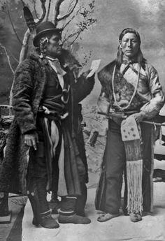 Wolf Chief, Sand Hill Crane (aka One Eye, aka Harry Eaton) - Hidatsa - circa 1885: