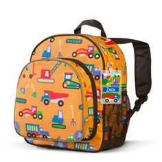 Gear : Under Construction Personalized Toddler Backpack
