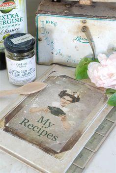 Recipe Book vintage