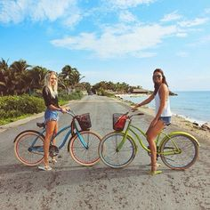 Use bike in Tulum...ecological way!!