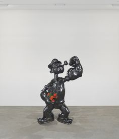 Audio guide stop for Jeff Koons, _Popeye_, 2009–12