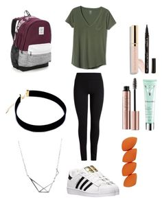 """""""Untitled #8"""" by sofia-arizpe on Polyvore featuring Gap, Victoria's Secret, Beautycounter, adidas, Smith & Cult and Vichy"""