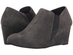 VIONIC with Orthaheel Technology Elevated Stanton Wedge Comfy Shoes, Comfortable Shoes, Shoes Uk, Cute Shoes, Arch Support Shoes, Heel Pain, Shoe Boots, Shoe Bag, Black Wedges