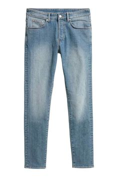 Skinny Jeans - Niebieski denim - ON | H&M PL