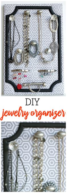 DIY Jewelry Organize