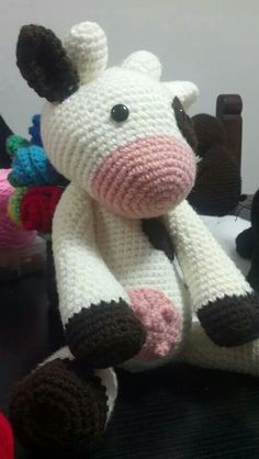 1000+ images about Amigurumi vacas y ovejas on Pinterest ...