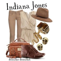 """Indiana Jones"" by disneythis-disneythat on Polyvore"