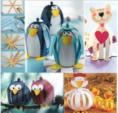 Papier Animals - TOPP Kreativ