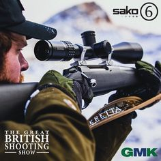 First article for Mays issue of Shooting News is live. GMK and Sako are excited to announce the launch of he Sako 6 club... Read the full article today in Shooting News- fieldandrurallife.com FREE to read online E magazine. Tickets are on sale for the 2017 British Shooting Show. Buy yours today for a discounted price. Shootingshow.co.uk #BritishShootingShow #ShootingShow #BSS #GMK #Sako #Rifles #Club #Shooting #ShootingNews