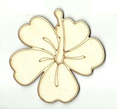 Flower - Laser Cut Wood Shape FLR43