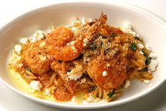 Κριθαρότο με γαρίδες και μανιτάρια. Μια συνταγή για ένα νόστιμο πιάτο για όλη την οικογένεια. Το σερβίρετε σκέτο για όσους νηστεύετε και με τυρί φέτα αν δε