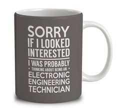 Probably Thinking About Being An Electronic Engineering Technician