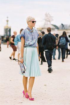 Vanessa Jackman: Paris Fashion Week SS 2013....Elisa