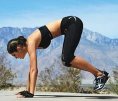 Toning Bodyweight Moves | Bullfrog: Works shoulders, abs, butt, thighs