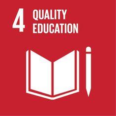 Quality education http://www.un.org/sustainabledevelopment/sustainable-development-goals/