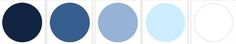 cool icey colour palette #wedpin