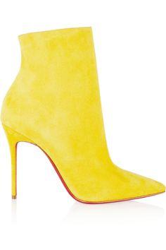 Yellow Sexy High Heels