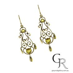 Please contact Gray Reid Gallery's Melbourne boutique for more information and availability of these earrings.  Among our online collection you will find vintage earrings, antique earrings, contemporary earrings by local artists as well as earrings we have made in our own workshop for stock or for a clients bespoke order. Our online gallery is just a small selection of stock from our Melbourne jewellery gallery has and is to be used as an inspirational guide as to the type of stock we…