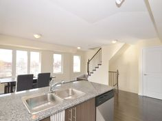 8 Foundry Ave # 260 - 2 Bd plus Den, 2 Wr, 200 Sq Ft of Private Terrace, 1 Underground Parking. FOR SALE $440,000.00 Den, Kitchen Island, Terrace, Home Decor, Island Kitchen, Balcony, Decoration Home, Room Decor, Porch