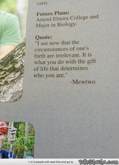 Senior Quote of Choice