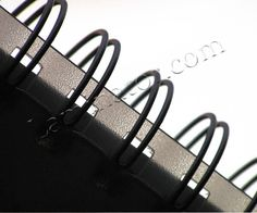 """Twin Loop Wire Binding Spines - 1"""" - 2:1 Pitch 