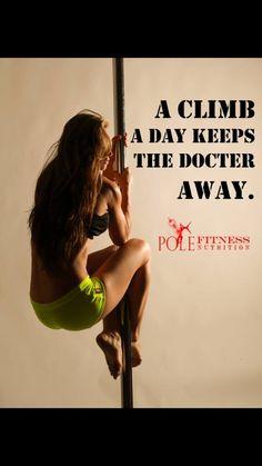 Pole Fitness Climbs #PoleFitness #addicted #monkeyskills