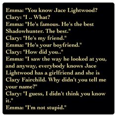 Emma Carstairs and Clary Fairchild (City of Heavenly Fire by Cassandra Clare ~ The Mortal Instruments book 6) Quote