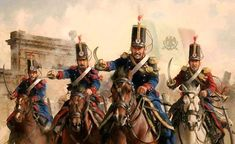 An exciting painting of Mexican cavalry at the charge during the Mexican American war. Mexican Army, Mexican American War, American History, Military Art, Military History, Military Uniforms, Texas Revolution, Art Reference, Illustration