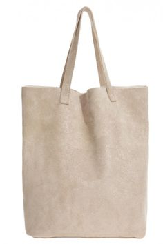 Clara Suede Tote...love a simple tote and this is a fab color.