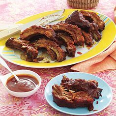 Hawaiian luau recipes | Rum-Glazed Spare Ribs | AllYou.com