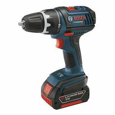 BEST DEAL Factory-Reconditioned Bosch DDS181-02-RT 18V Cordless Lithium-Ion Compact Tough 1/2 in. Drill Driver with 2 Slim Pack HC Batteries
