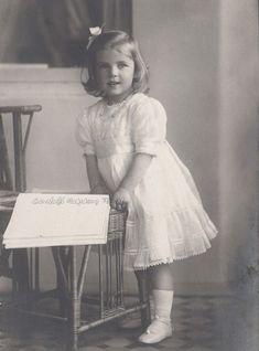 La princesse Ingrid de Suède et son arrière-petite-fille