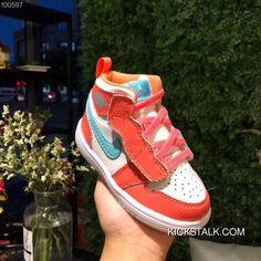 c52a95214b35 Kids Jordan 1 Air Jordan 1 21-35 Red Best