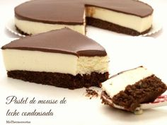 Ingredient s 1 ounce) package chocolate cake mix 1 g) package PHILADELPHIA Brick Cream Cheese, softened 1 egg 2 tablespoons s. Just Desserts, Delicious Desserts, Yummy Food, Sweet Recipes, Cake Recipes, Dessert Recipes, Dessert Thermomix, Mousse Cake, Yummy Cakes