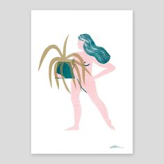Shop Lucy Ketchin Riso Print from The Archipelago Press in Limited edition prints, available on Tictail from Room With Plants, Archipelago, Botanical Illustration, Illustrators, Screen Printing, Moose Art, Animals, Etsy, Animaux