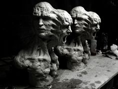 sculptures glitch de enrico ferrarini 2   Les sculptures glitch de Enrico Ferrarini   traditionnel Sculpture photo moderne jeu video image g...