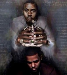 Nas passing the crown the Cole. Couldn't have been more accurate.