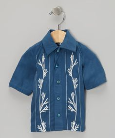 Take a look at this Twilight Camp Button-Up - Infant, Toddler & Boys on zulily today!