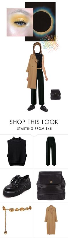 """""""beauty, beholder, eye"""" by polishzima ❤ liked on Polyvore featuring Neil Barrett, WithChic, Chanel and Rachel Comey"""