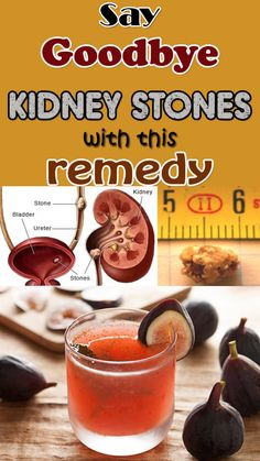 Get rid of kidney stones with this natural homemade remedy.
