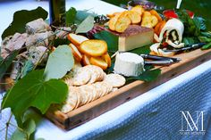 Gorgeous cheese tray! Nora Murphy Country House - Country House Entertains