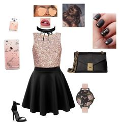 """""""Untitled #9"""" by sassy-carrots on Polyvore featuring Calvin Klein, Quay, Olivia Burton and Boohoo"""