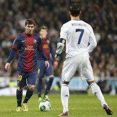Messi versus Ronaldo. How often in any sport have the two best exponents faced each other, not just once, but maybe three or four times a season?