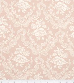 Keepsake Calico Fabric-Laurie Pink, , hi-res  Potential Curtain Fabric