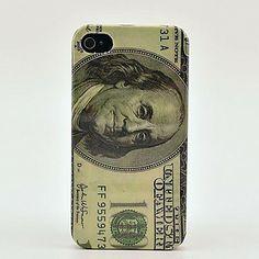 US Dollar Hard Skin Case voor de iPhone 4/4s – EUR € 2.75