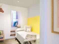 Un #piso urbano, joven y flexible. #reforma  #dormitorio