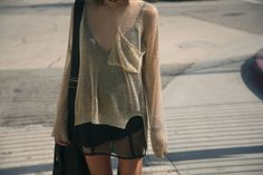 I probably like sheer clothing far more than is healthy.