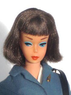 Rare European pink skin AMERICAN GIRL VERY RARE! brunette  straight leg #Barbie #midcenturydolls  #dollshopsunited