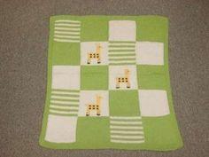 schemi maglia per copertine - Copertina per neonati con animali