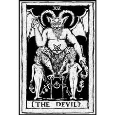 The Devil paint yourself stretched canvas print (£16) ❤ liked on Polyvore featuring home, home decor and wall art